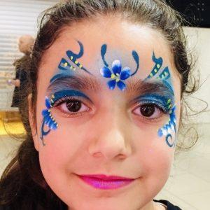 Colorful-Faces-Ansigtsmaling-Barnedåb