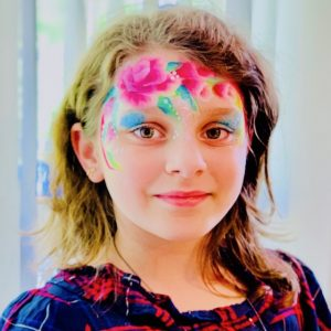 Colorful-Faces-Ansigtsmaling-Blomster-Barnedåb