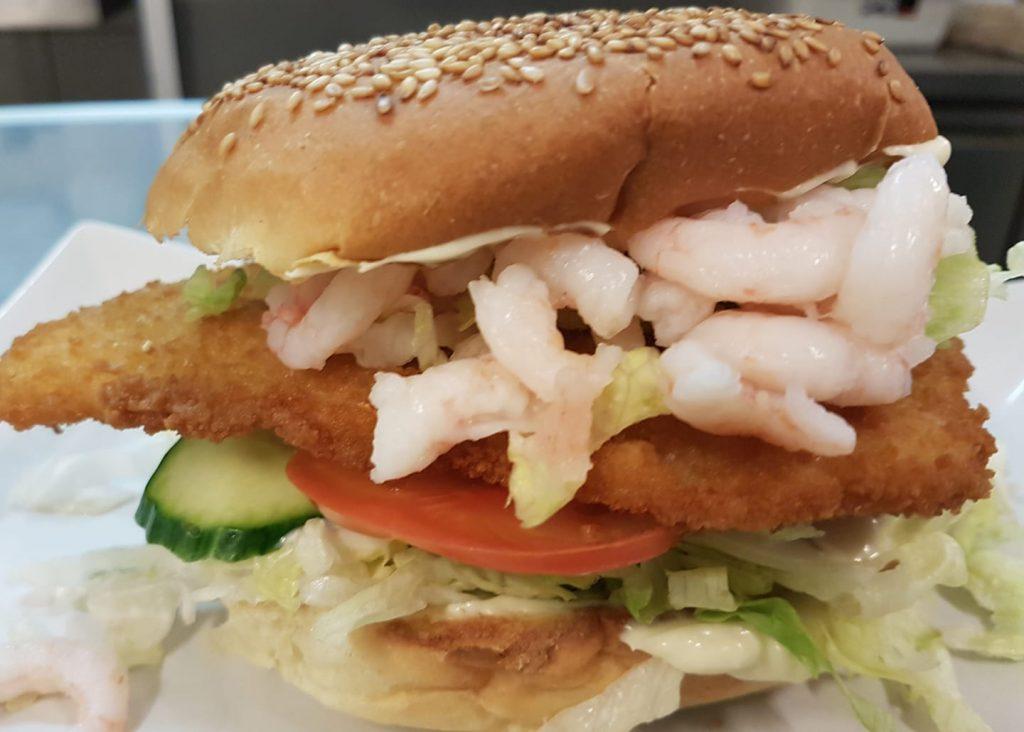 Grill-eXperten.dk  Fiske burger