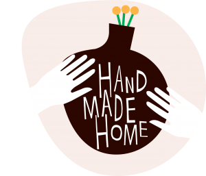 Hand made home logo