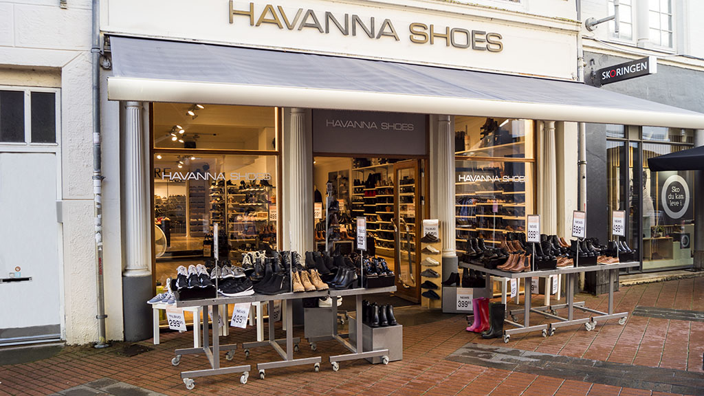 Havanna-Shoes banner city Kolding