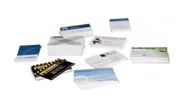 lasertryk.dk udvalg af visitkort luksuskvalitet