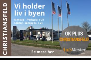 OK Plus Christiansfeld Banner City Kolding