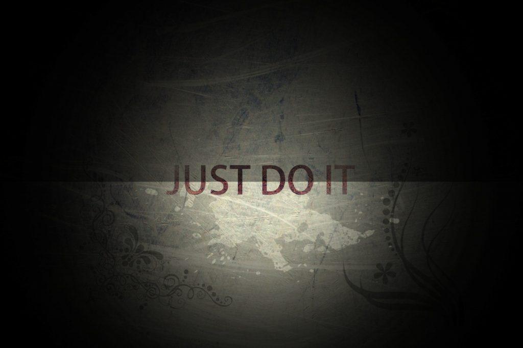Just Do It Citatplakat