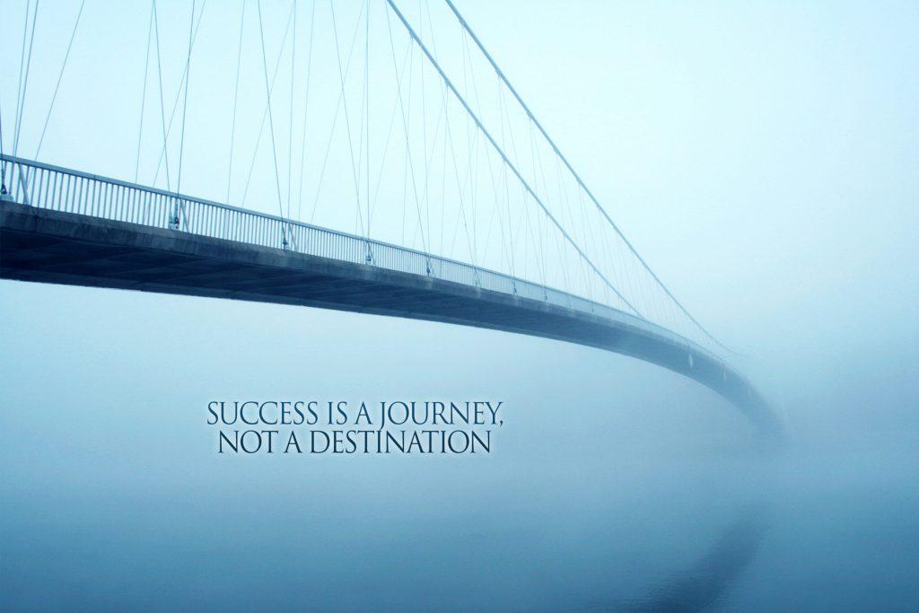 Succes Is Citat plakat