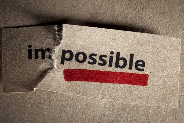 Impossible Citatplakat