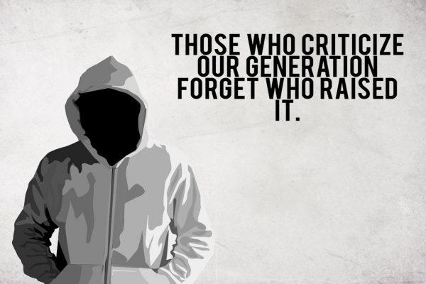 Those Who Criticiize Our Generation Citatplakat