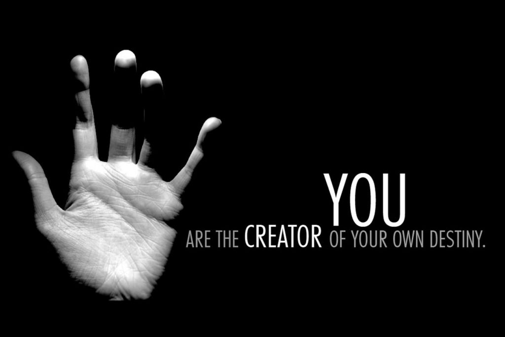 You Are The Creator Citatplakat