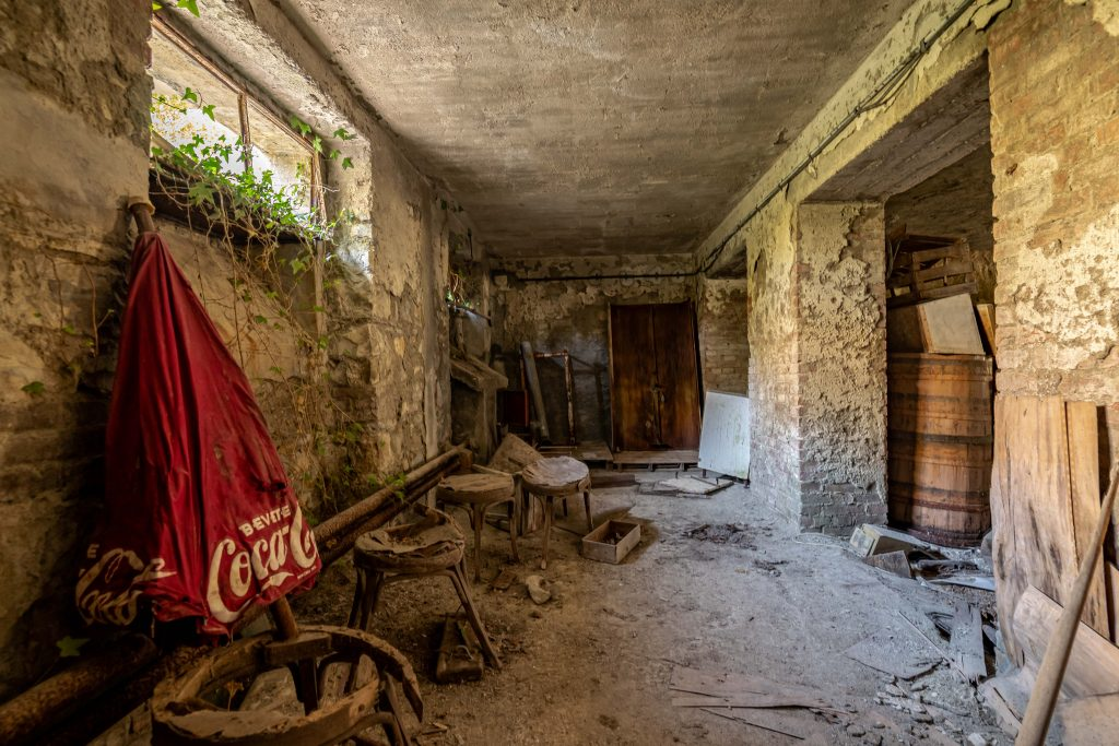 Børnehjemmet italien 3 - WooW Plakater Forladte steder - urban explore