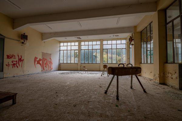 Gymnastik Salene - WooW Plakater Forladte steder - urban explore