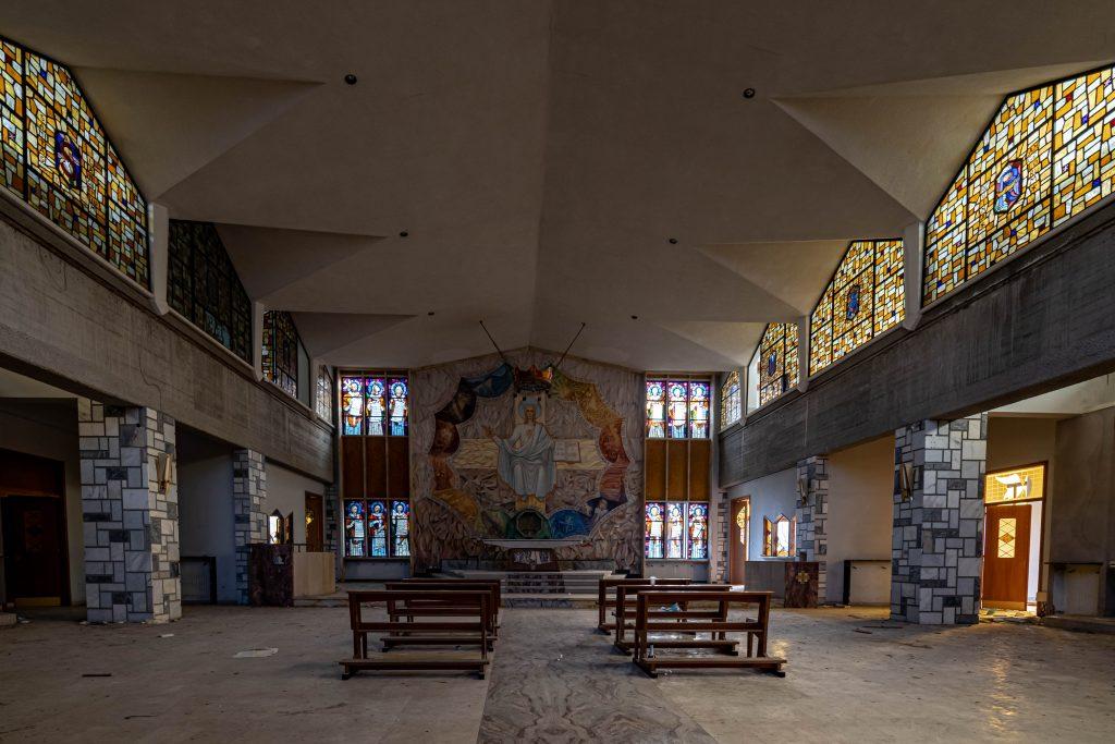 Musikskolen Kirke - WooW Plakater Forladte steder - urban explore