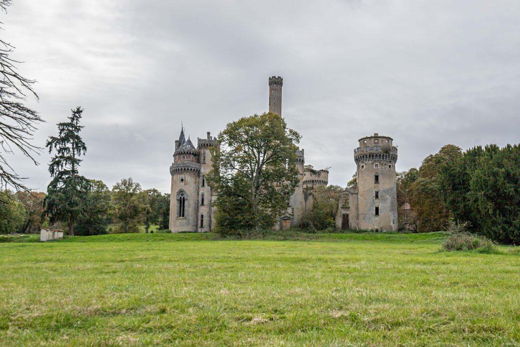 Abandoned Castles - WooW Plakater Forladte steder - urban explore