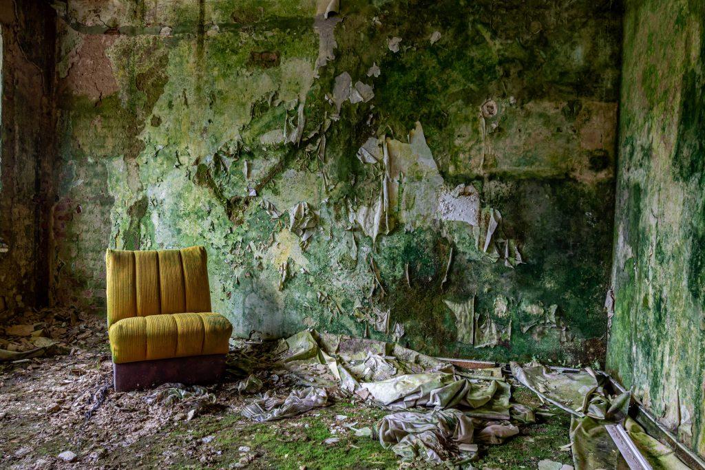 Det Grønne Hotel - WooW Plakater Forladte steder - urban explore