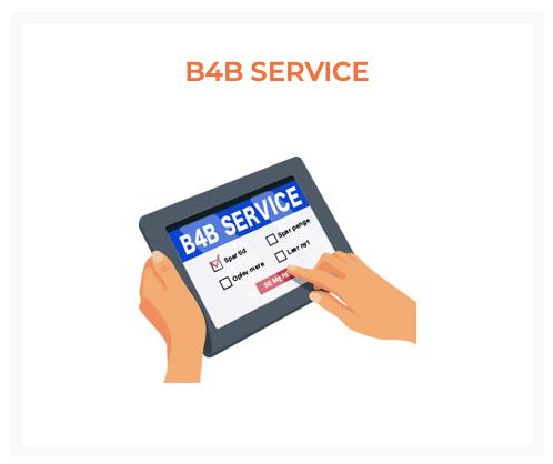 Niipit B4B service Virksomheder - B4B REKLAME