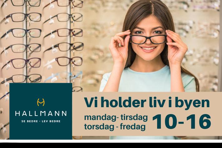 HALLMANN VI HOLDER ÅBENT
