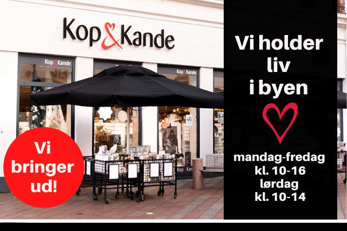 KOP & KANDE VI BRINGER UD
