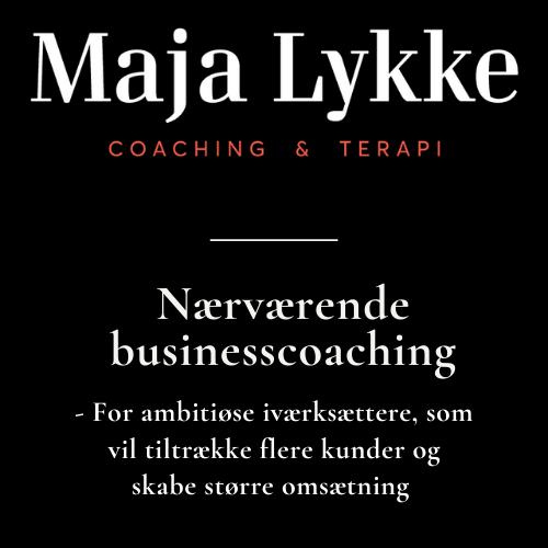 Maja Lykke BUSINESSCOACH