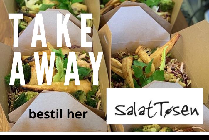 Salattøsen TAKE AWAY