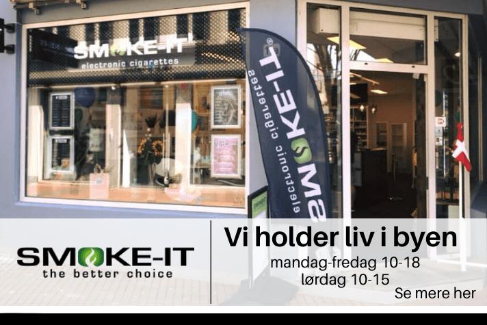 SMOKE-IT VI HAR ÅBENT